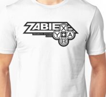 Zabie Security Systems - Black & White Unisex T-Shirt