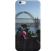 The Newport Bridge, Newport Oregon iPhone Case/Skin