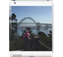 The Newport Bridge, Newport Oregon iPad Case/Skin