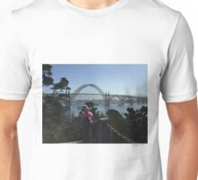 The Newport Bridge, Newport Oregon Unisex T-Shirt