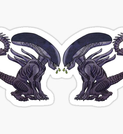 Xeno puppies Sticker