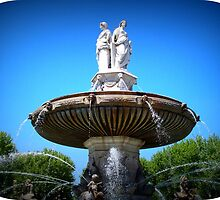Lovely Fountain  by daffodil