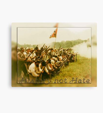 History not Hate Canvas Print