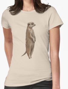 Its a Meerkat Womens Fitted T-Shirt