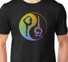 Yin and Yang Yoga Unisex T-Shirt