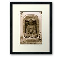OG Buddha Merchandise Framed Print