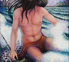 The Greek Gods ~ Poseidon by Debra A. Hitchcock