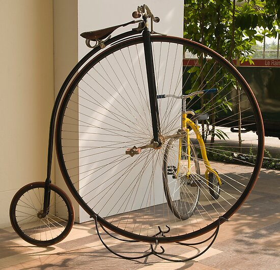 Penny Farthing - Old and New by DonMc