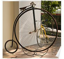 Penny Farthing - Old and New Poster