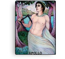 The Greek Gods ~ Apollo Canvas Print