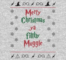 Merry Christmas ya filthy muggle by fashprints