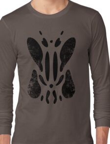 Tell Me What You See (Black Distressed) Long Sleeve T-Shirt