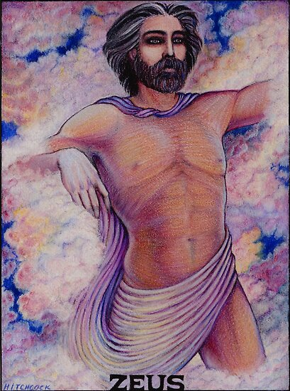 The Greek Gods ~ Zeus by Debra A. Hitchcock