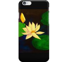 Lilly in a pond iPhone Case/Skin