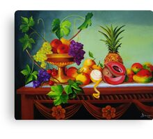 A Gathering of Fruits Canvas Print