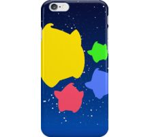 Lumas (Yellow, Red, Blue, Green) iPhone Case/Skin