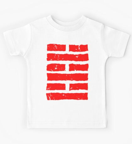 Arashikage Distressed Red Kids Tee