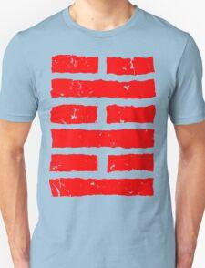 Arashikage Distressed Red Unisex T-Shirt