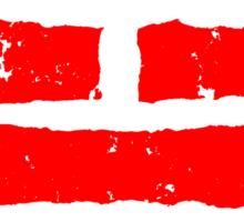 Arashikage Distressed Red Sticker