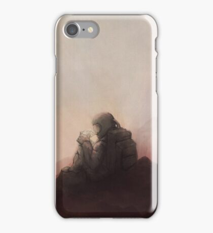 The Warm Embrace of the Final Chill iPhone Case/Skin