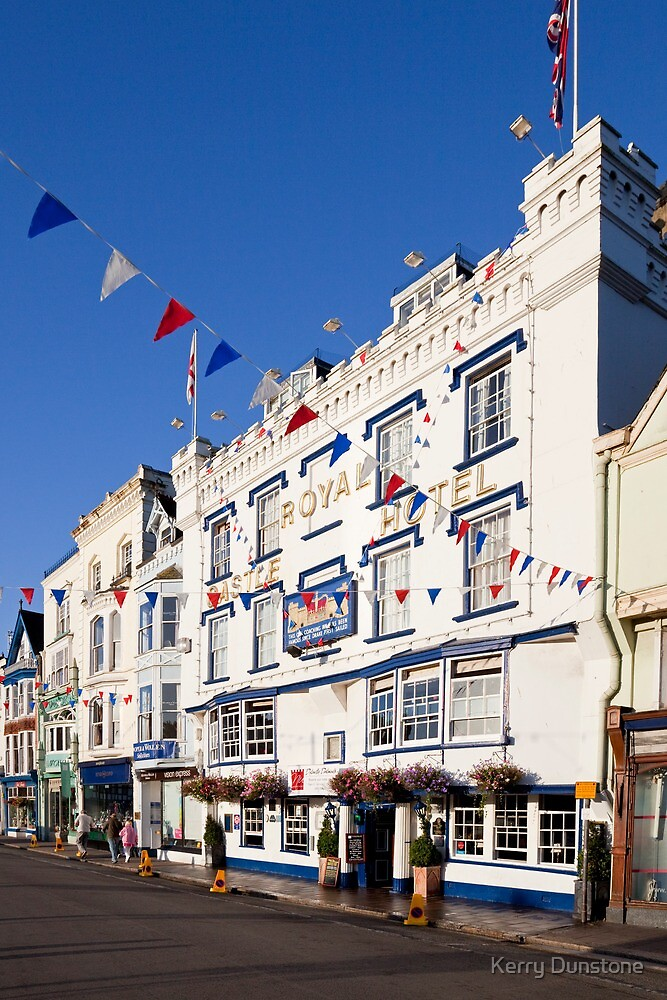 The Royal Castle Hotel, Dartmouth by Kerry Dunstone