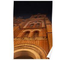 Saigon Notre-Dame Basilica Church, Vietnam Poster