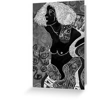 Judith [after Gustav Klimt] Greeting Card