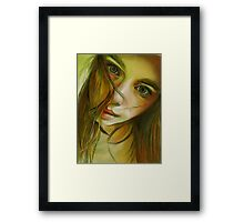 Why? Framed Print