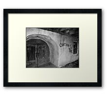 Old Tima Cantina Framed Print