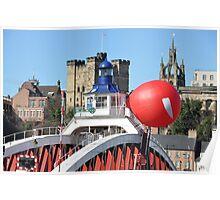 Red nose bridge Poster