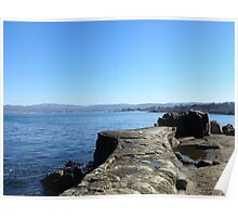 Lover's Point Seawall Poster