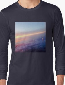 Purple Clouds  Long Sleeve T-Shirt