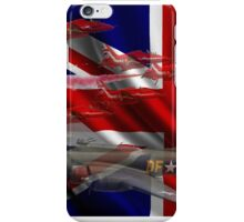 AIRCRAFT AND UNION JACK iPhone Case/Skin