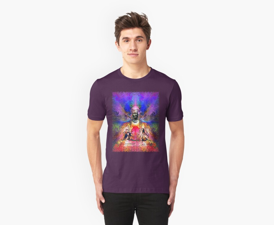 The Path to Enlightenment Tee by Christopher Pottruff