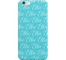Ellie - Modern Calligraphy Name Design iPhone Case/Skin
