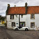 Old Car, Old Cottage by Lynne Morris