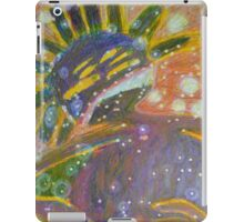 There's Death In Me Still - Abstract Portrait iPad Case/Skin