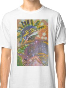 There's Death In Me Still - Abstract Portrait Classic T-Shirt
