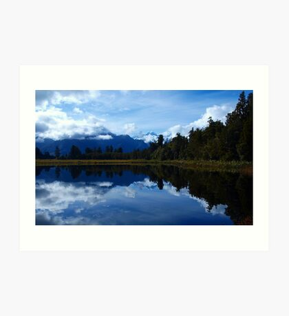Mirror Lake Art Print