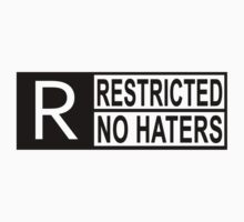 Restricted - no haters One Piece - Long Sleeve