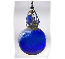 Blue Glass Village Poster