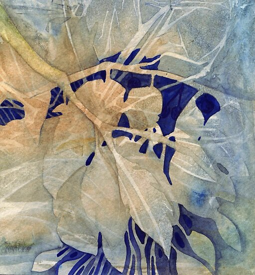 Twigs and Leaves  by Val Spayne