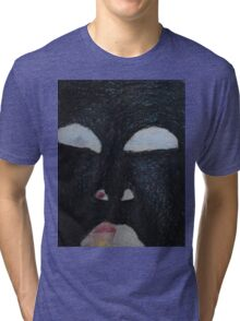 You're Standing In My Eye - Looking Out My Head Tri-blend T-Shirt