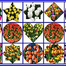 Just  For Fun - Crazy Tulips Collage by BlueMoonRose