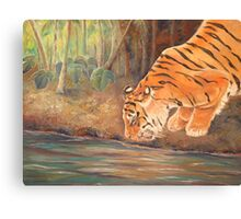 Forest Tiger Canvas Print