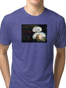 Dracula Yeti in Full Technicolor Tri-blend T-Shirt