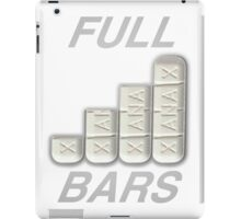 FULL XANAX BARS WHITE iPad Case/Skin
