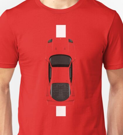 Top view of the legend Unisex T-Shirt