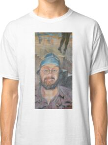 Almost All The Girls Are Taller Than Me - Portrait In Crayon Classic T-Shirt