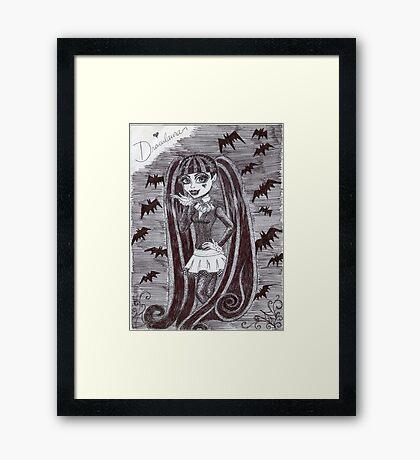 Iconic Draculaura Framed Print